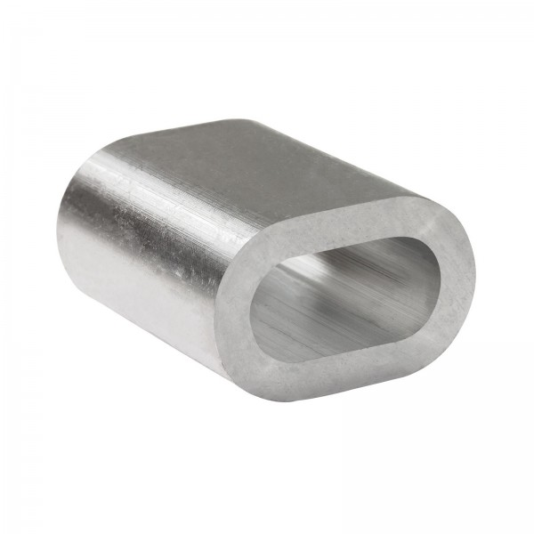10x Pressklemmen Pressklemme Aluminium 5 mm
