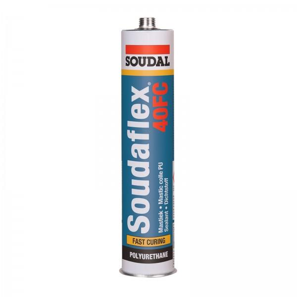 Soudal Soudaflex 40FC Polyurethan elastischer Klebstoff Dichtstoff Mastic 310ml