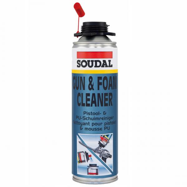 Soudal Pistolenreiniger Schaumreiniger PU Reiniger Reinigungsmittel 500ml