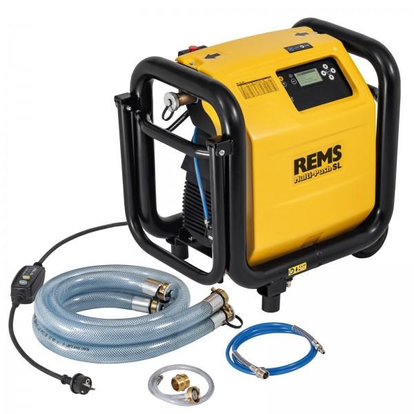 REMS Elektronische Spül- und Druckprüfeinheit Multi-Push SL Set