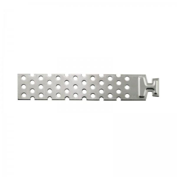 Maueranschlussanker für Dünnbettfugen PB-Anschlussanker aus Edelstahl 150x30 mm