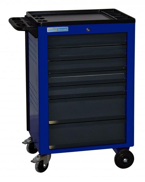 ADB Werkstattwagen Basic blau mit 7 Schubladen