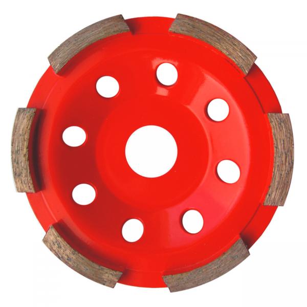 toroflex DIAMANT-TELLER 1-reihig Ø115mm BETON