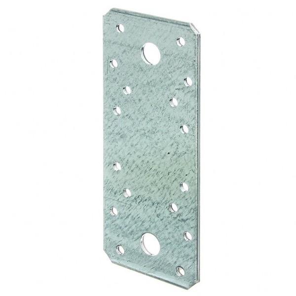 1x Flachverbinder verz. 140x55x3