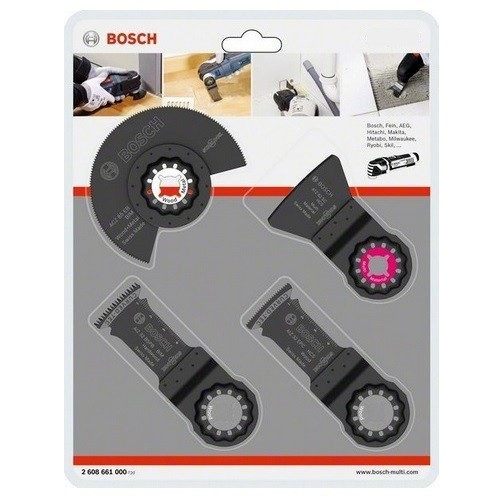 Bosch GOP Bodenbelag-Set Einbau-Set 4-tlg. 2.608.661.696