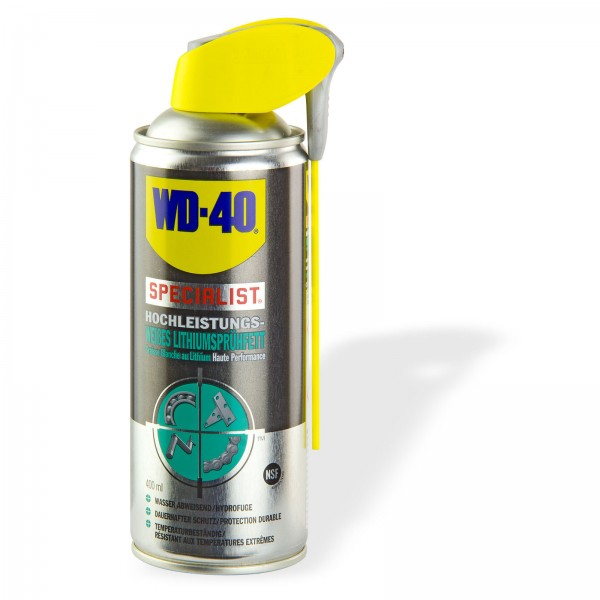 WD 40 Weißes Lithiumsprühfett 400ml