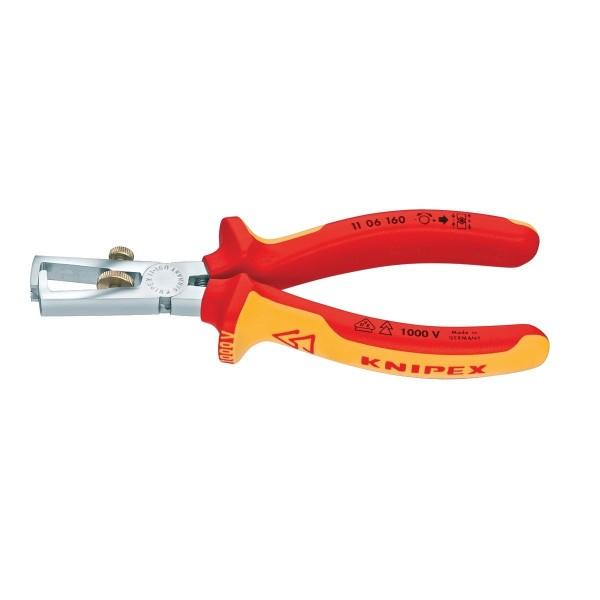 Knipex Abisolierzange 160mm 1000V VDE geprüft 1106160