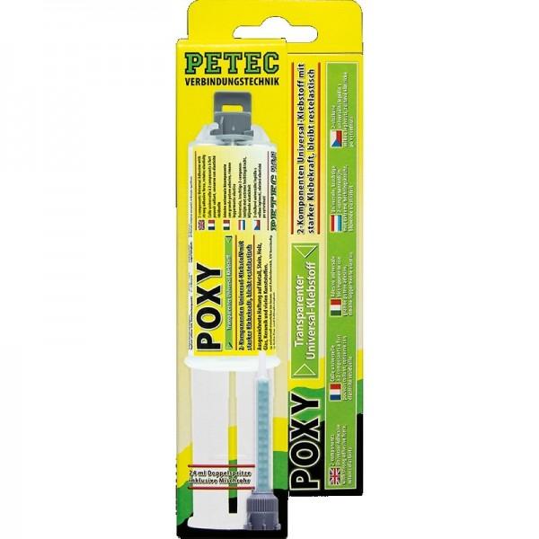 Petec Power Poxy Kleber Universal-Klebstoff 24 ml
