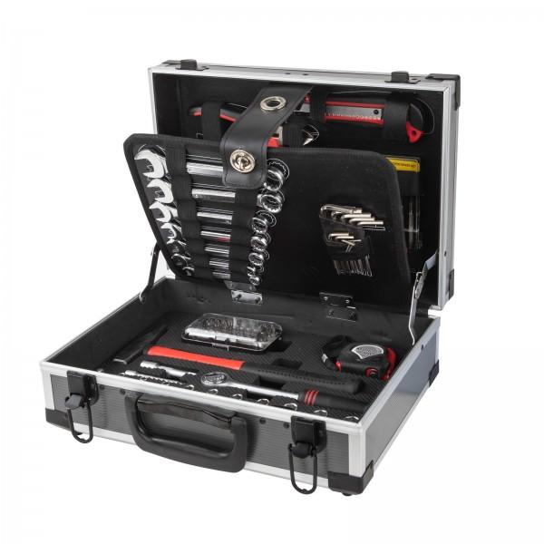 Alu-Werkzeugkoffer 90 tlg.