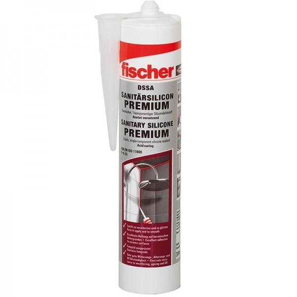 Fischer Sanitärsilicon 310ml DSSA Premium