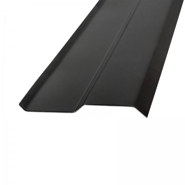 Kaminanschluss-Schiene schwarz