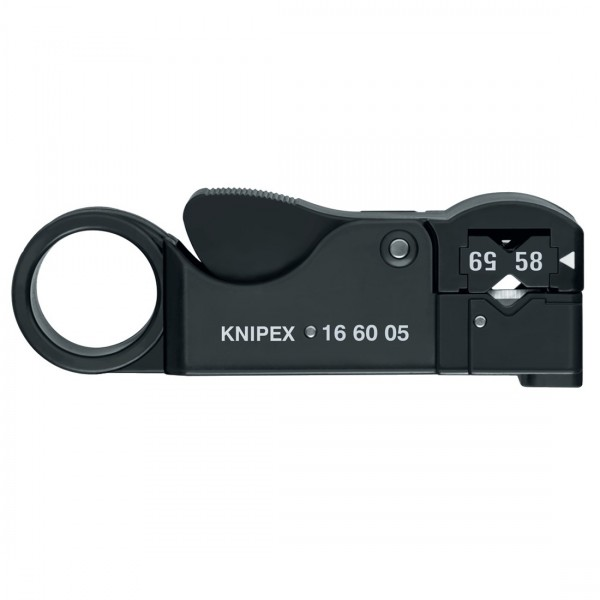Knipex Abisolierwerkzeug für Koax-Kabel 166005 SB