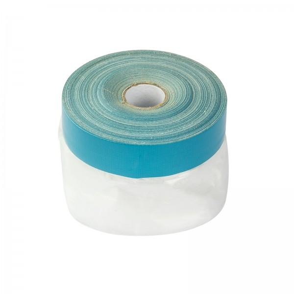 Abdeckfolie Folie Masker-Tape Maskerband Abdeckband Schutzfolie mit Klebeband