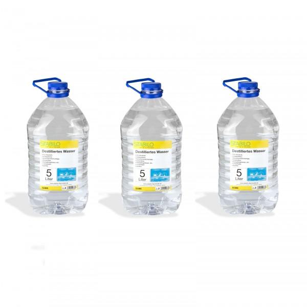 Destilliertes Wasser 5l.