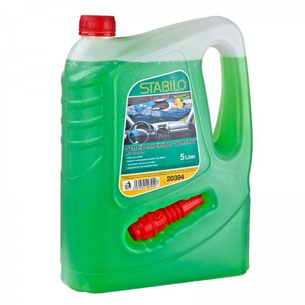 PKW Auto KFZ Scheibenreiniger Reiniger für Scheibeinwischanlage 5 Liter