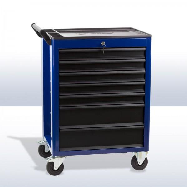 XL Werkstattwagen DW7 Schubladen blau / schwarz