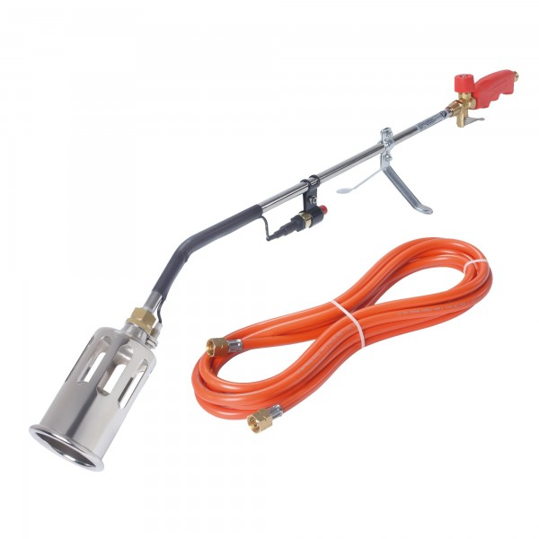 Rothenberger RoMaxi Anwärmbrenner-Set mit PIEZO-Zündung Gasbrenner Abflammgerät