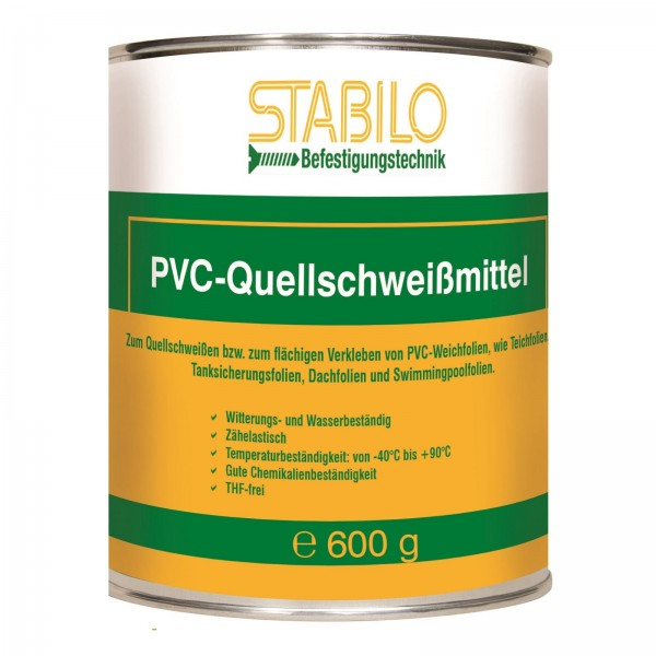 Stabilo Quellschweißmittel Teichfolienkleber Folienkleber Kleber 600 gr.