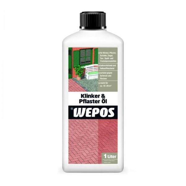 Wepos Klinker & Pflaster Öl 1 Liter