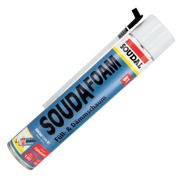 Soudal Soudafoam B1 Adapterschaum Montageschaum Schaum Schwerentflammbar 750ml