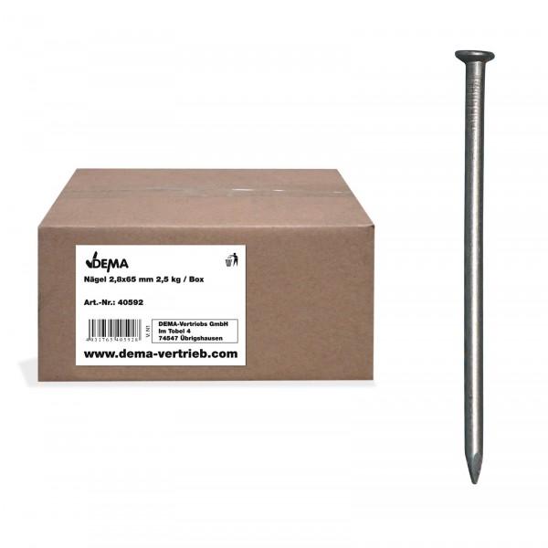 Drahtstifte Nägel Nagel Senkkopf Stahl blank 2,5 - 5,0 kg