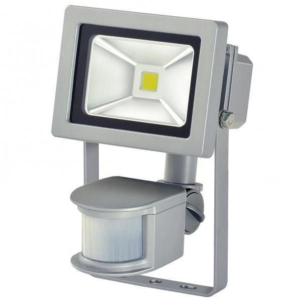 Brennenstuhl LED-Leuchte IP44 10W mit Bewegungsmelder LED Strahler Fluter