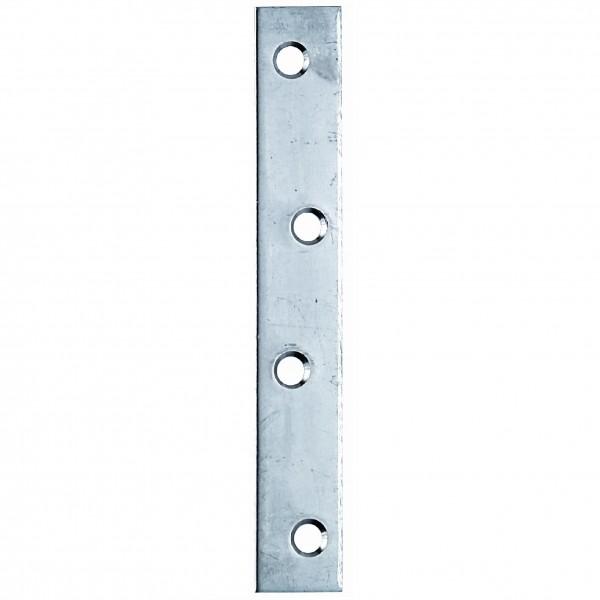 1x Flachverbinder Edelstahl VA 100x15x1,75