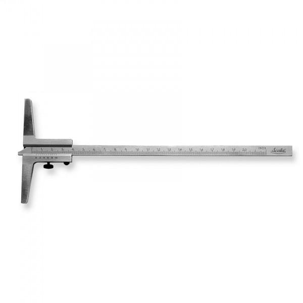 Scala Analoger Messschieber Tiefenmessschieber Schieblehre 200 oder 300 mm