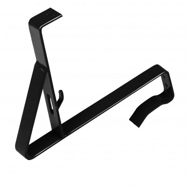 Stütze zum Einhängen, schwarz (RAL 9005)