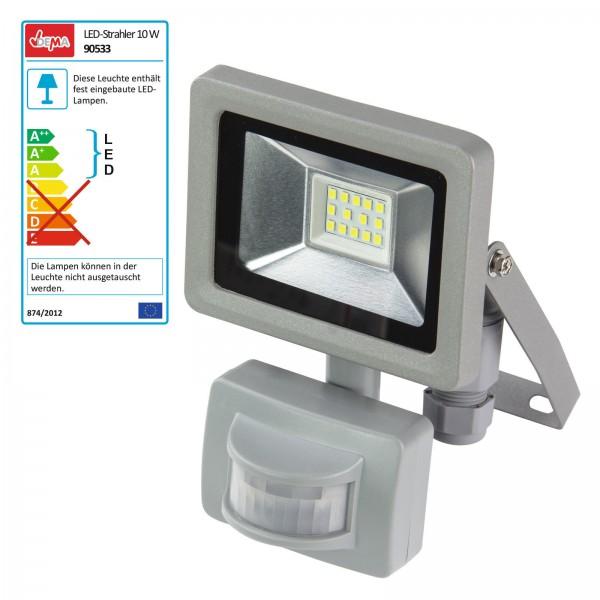 LED-Strahler mit Bewegungsmelder 230 V / 10 Watt