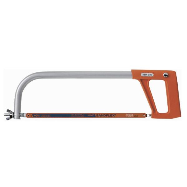 Bahco Metallsägebogen mit Alu-Rahmen 470 mm Metallsäge Handsäge Säge sägen 306