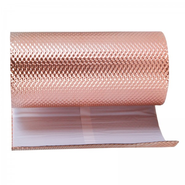 Kaminanschlussband Wandanschluss Anti Moos Stop aus Kupfer Moosstop Kupferband Kupferrolle 300 mm