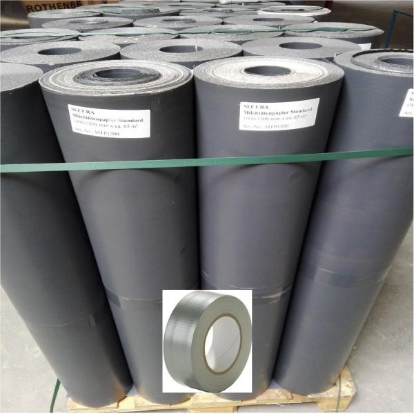 1 Pal. Milchtütenpapier Abdeckpapier Milchpapier PE beschichtet 350g/m² - 65m²
