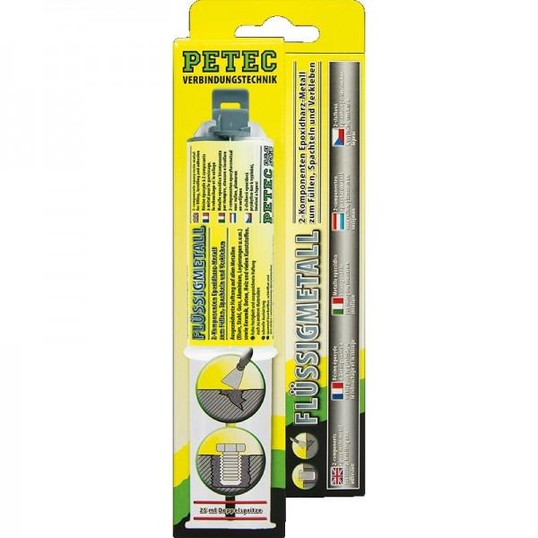 Petec Flüssigmetall-Doppelspritze 25 ml