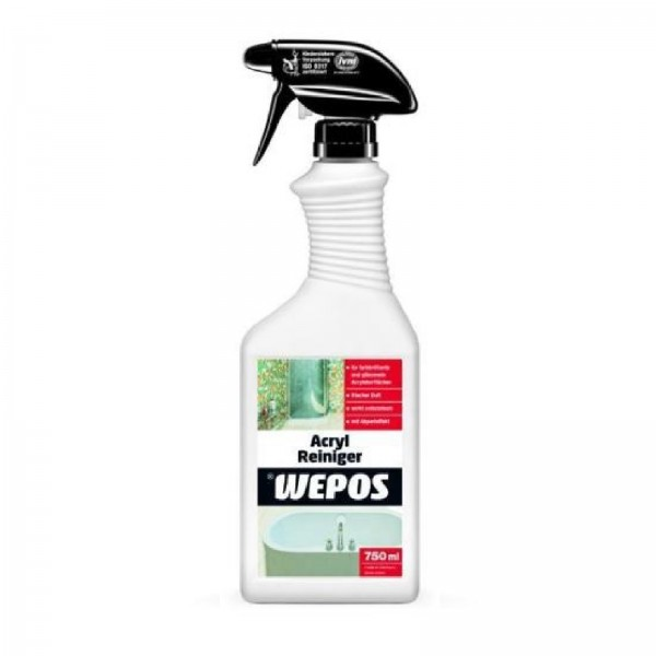 Wepos Acryl Reiniger 750 ml