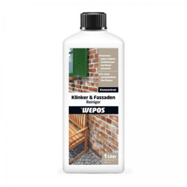 Wepos Klinker & Fassaden Reiniger 1 Liter