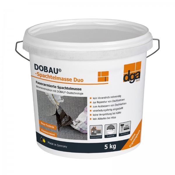 Dobau Spachtelmasse Bitumenspachtel Duo - 5 kg -