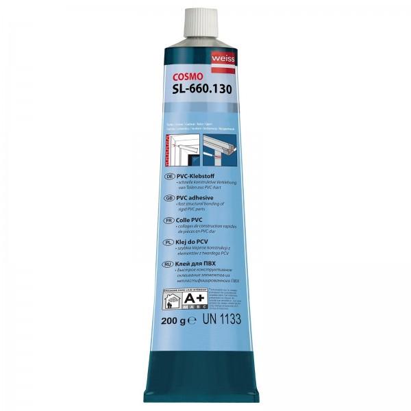 Cosmo PVC-Klebstoff transparent Tube 200g