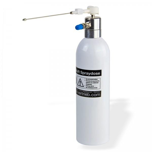 Druckluft Spraydose Druckluftdose Wiederbefüllbar Druckbehälter 600 ml