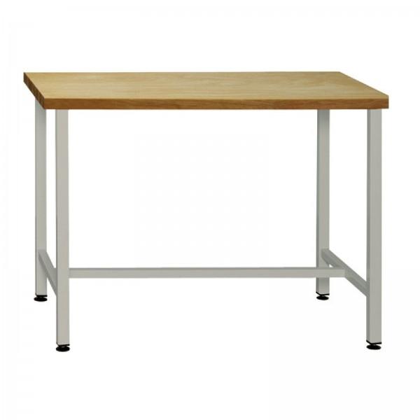ADB Werkbank Werktisch mit Werkbankplatte und Untergestell 1200x600x840 mm