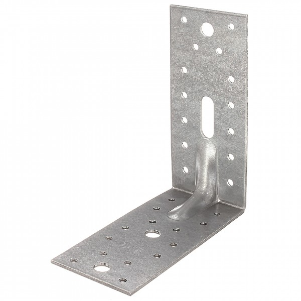 1x Schwerlast-Winkelverbinder verz. 150x150x65